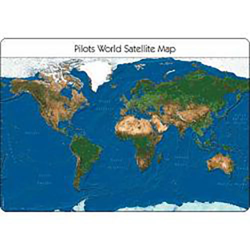 Pilots Atlas Satellite Desk Pad  Flyinsite