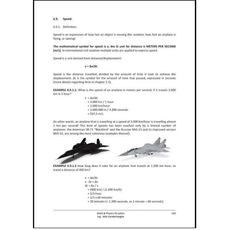Math and physics for pilots - picture 2