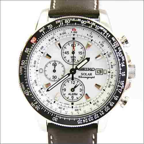 Seiko Ssc013p1 Prospex Pilot Men S Solar Chronograph Watch