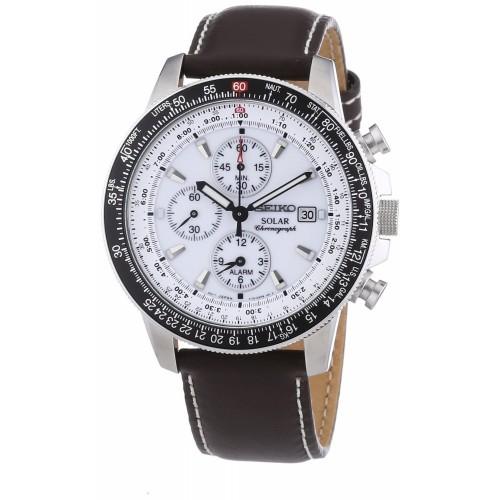 Seiko SSC013P1 solar chronograph - flyinsite pilot shop