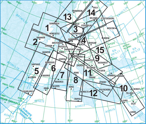 Jeppesen IFR Low Level overview