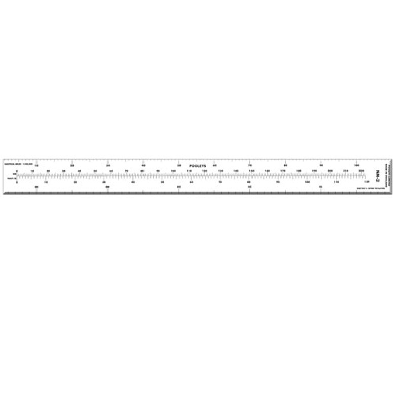 pooleys scale ruler - flyinsite pilot shop