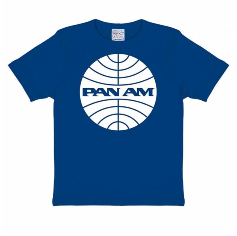 Pan Am T-shirt Children Royal Blue