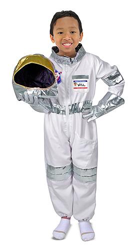 Melissa & Doug Verkleedkleding astronaut