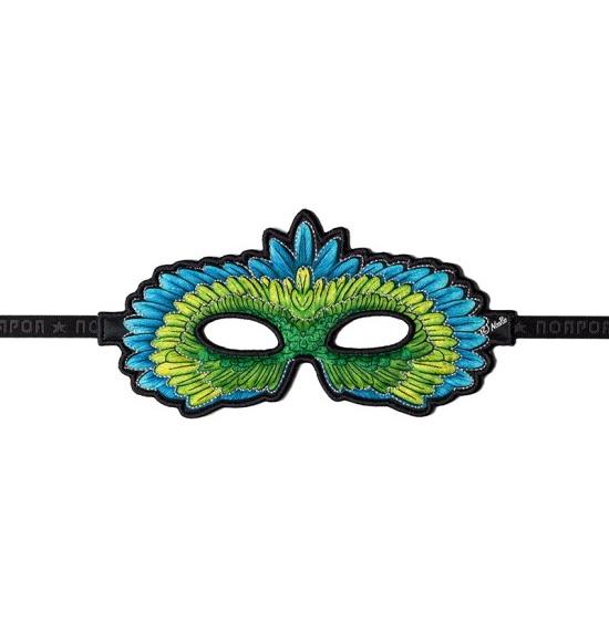 Masker-Papegaai-Groen