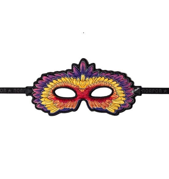 Masker-Papegaai-Rood