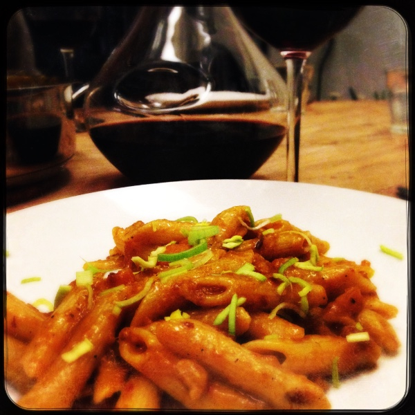 Food by the glass - Pasta pompoen