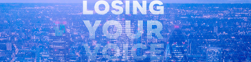 Losing Your Voice