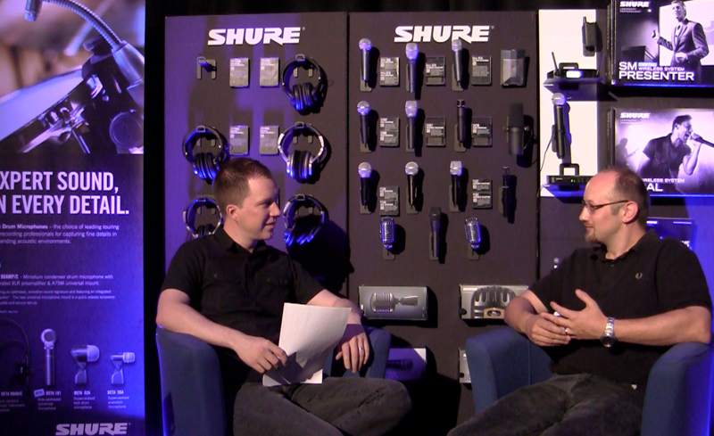 liam-halpin-interview-shure-uk