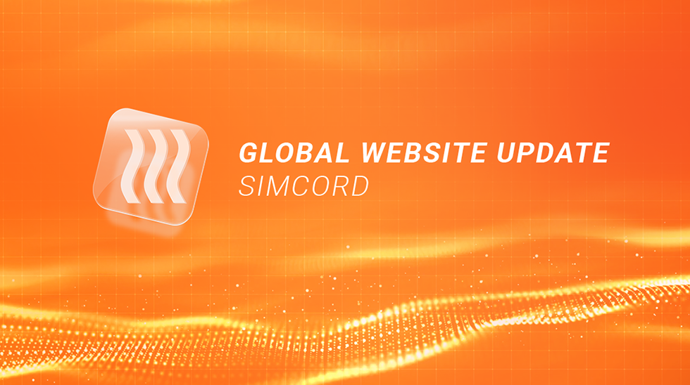 Update of the Official Website of Simcord Company