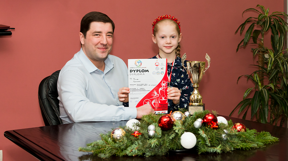 A Young Girl from Kharkiv Has Become the World Champion with Support of Simcord Company
