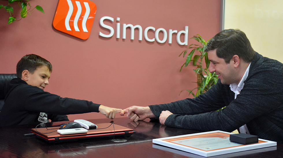 Simcord Company Has Made a Young Athlete's Dream Come True
