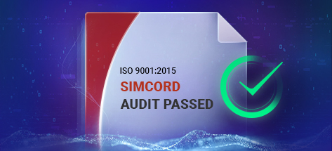 SIMCORD Has Been Recertified to the ISO9001:2015 International Standard
