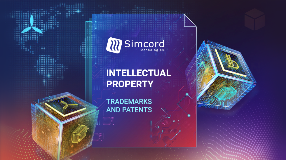 Internationale Registrierung von Objekten des geistigen Eigentums von Simcord
