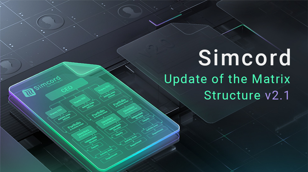 Regulations on Matrix Management Structure of Simcord. Version 2.1