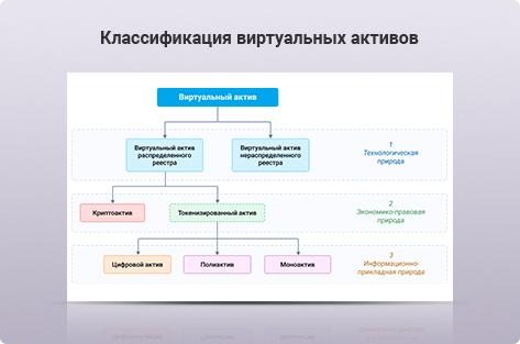 Научно-исследовательская статья Классификация виртуальных активов