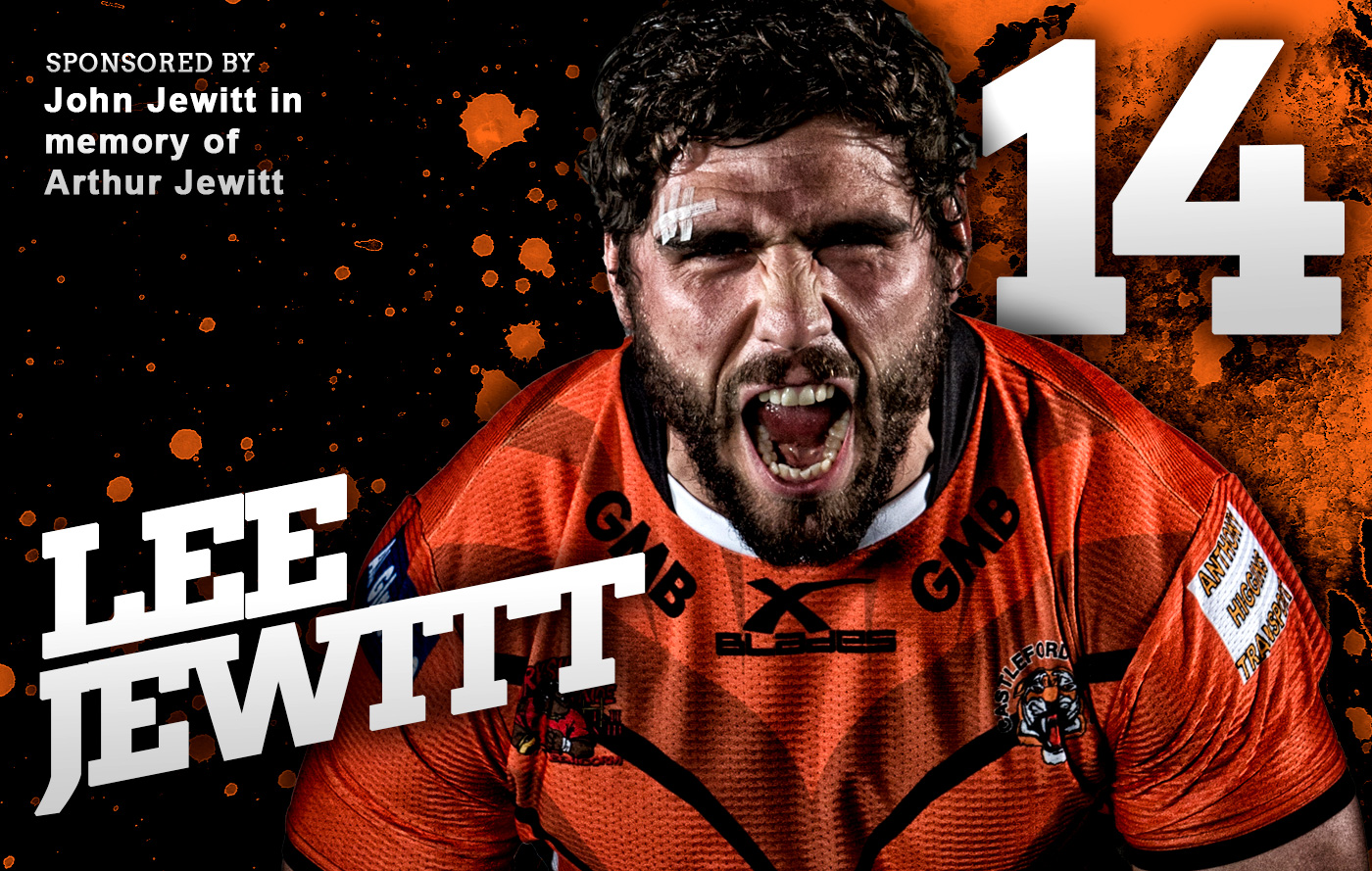 Lee Jewitt Castleford Tigers 2016 Squad Launch