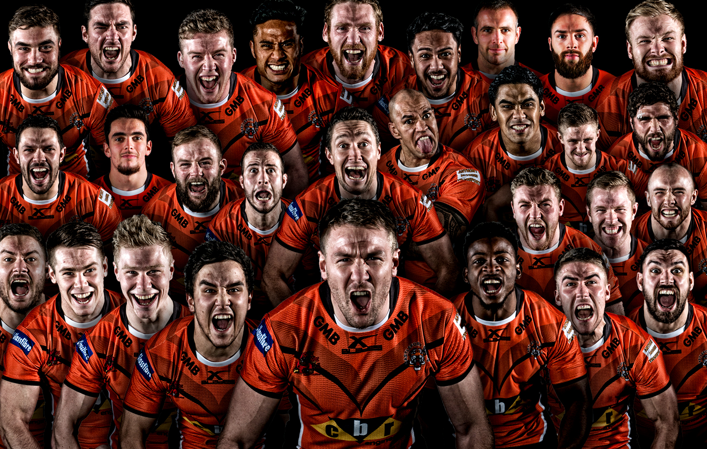Full Squad Castleford Tigers 2016 Squad Launch
