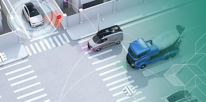 """""""Pozor, jedu zleva!"""" budou se auta možná už brzy vzájemně informovat."""