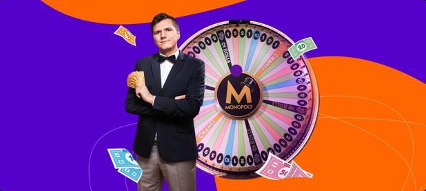 🎩 Cыграйте в классическую настольную игру с Monopoly Live!