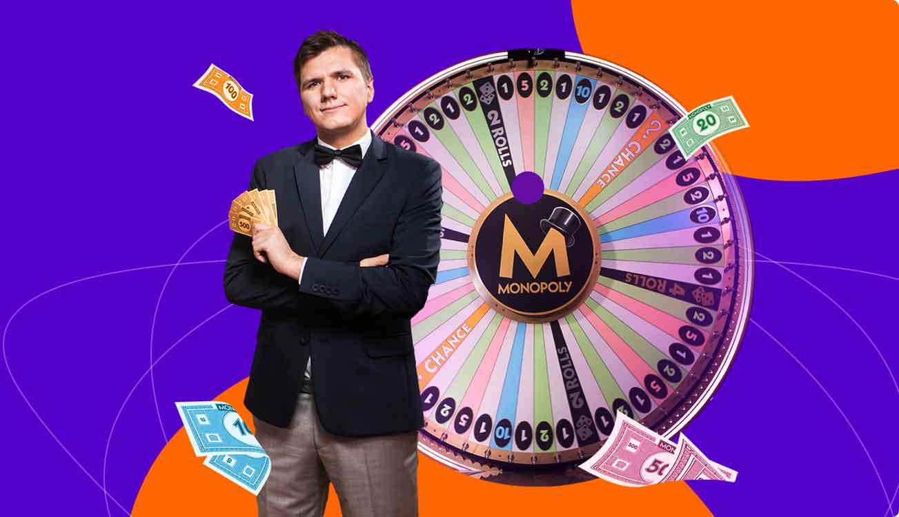 Elä uudelleen Monopoly Live maailmassa!