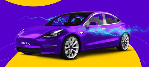 Сорвите куш и прокатитесь на Tesla!