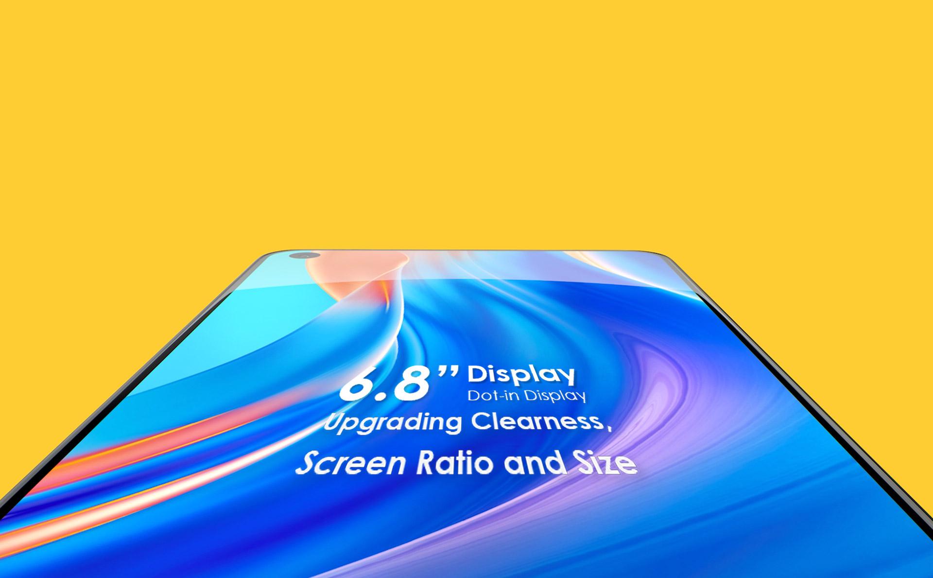 "6.8"" Dot-in Display"