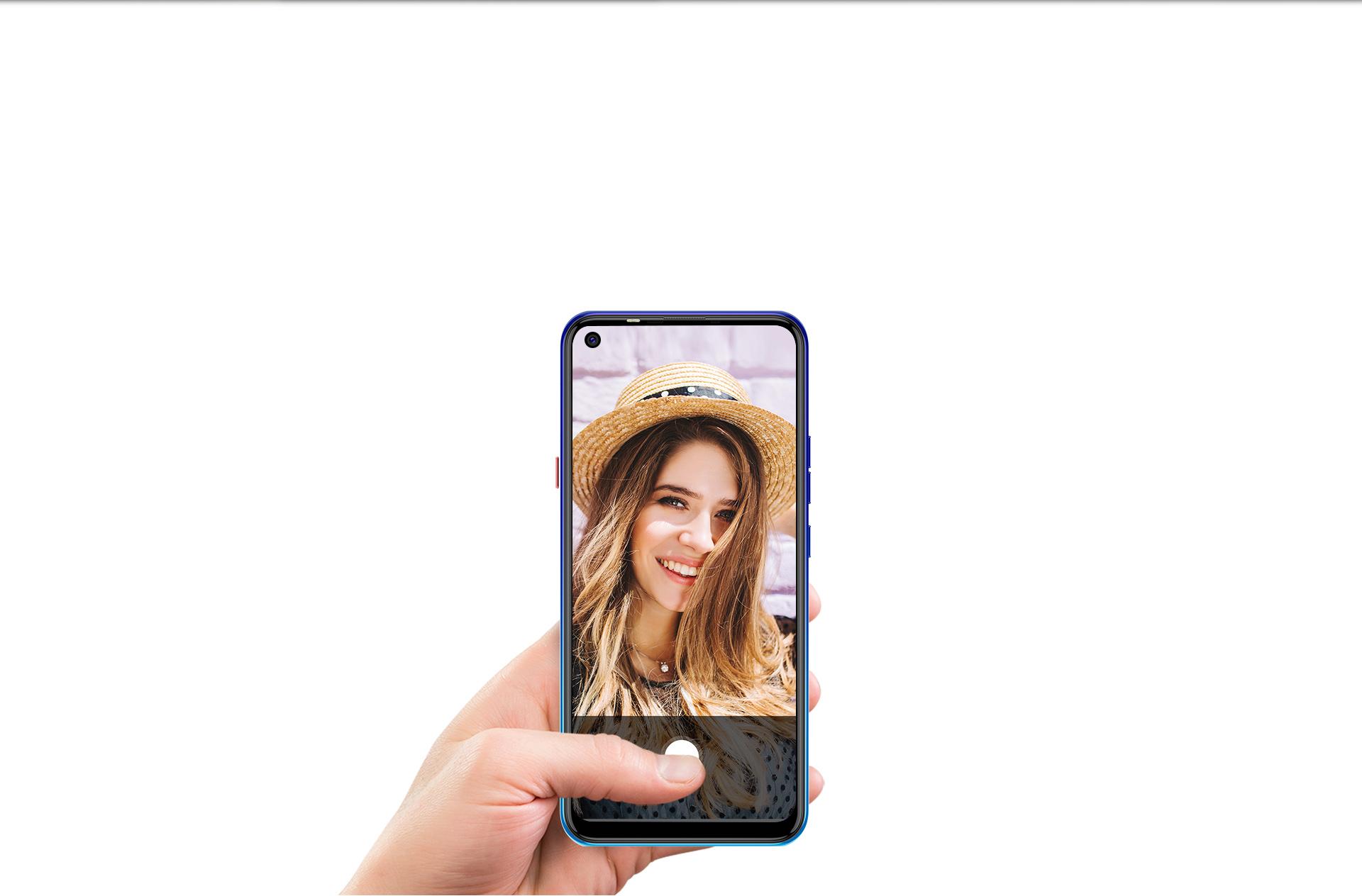 8MP AI Selfie Camera