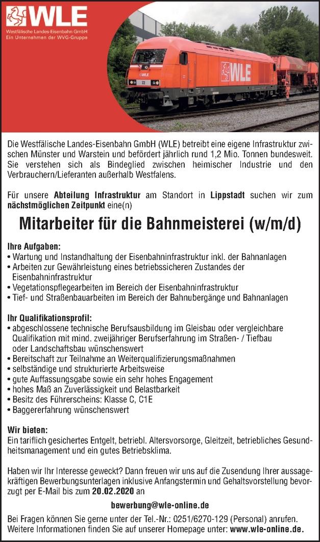 Gleisbauer m/w/d
