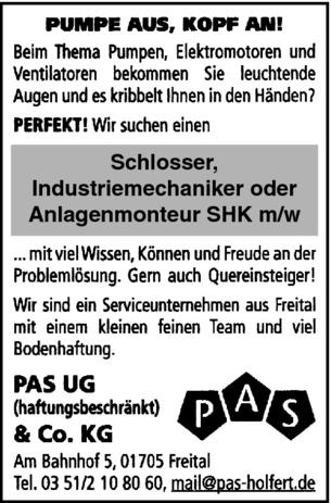 Schlosser/in