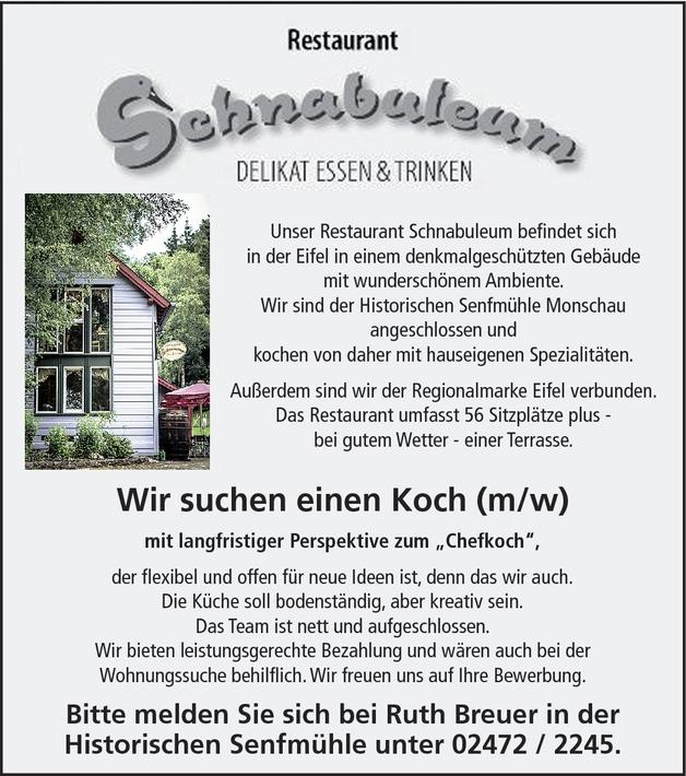 Koch/Köchin
