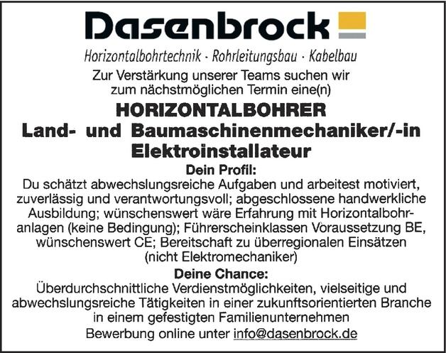 Land- und Baumaschinenmechaniker/in