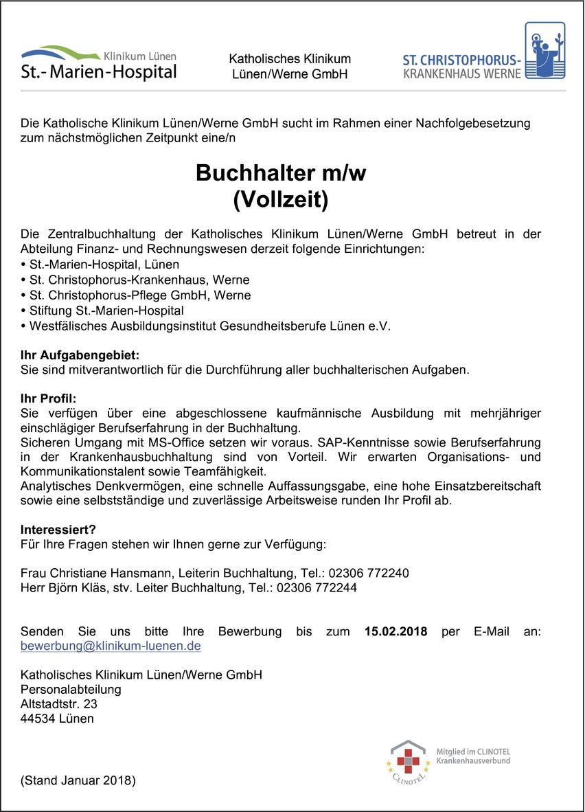 Gemütlich Lebenslauf Für Buchhalter Buchhaltung Fotos ...