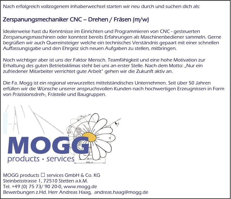 CNC-Dreher/in