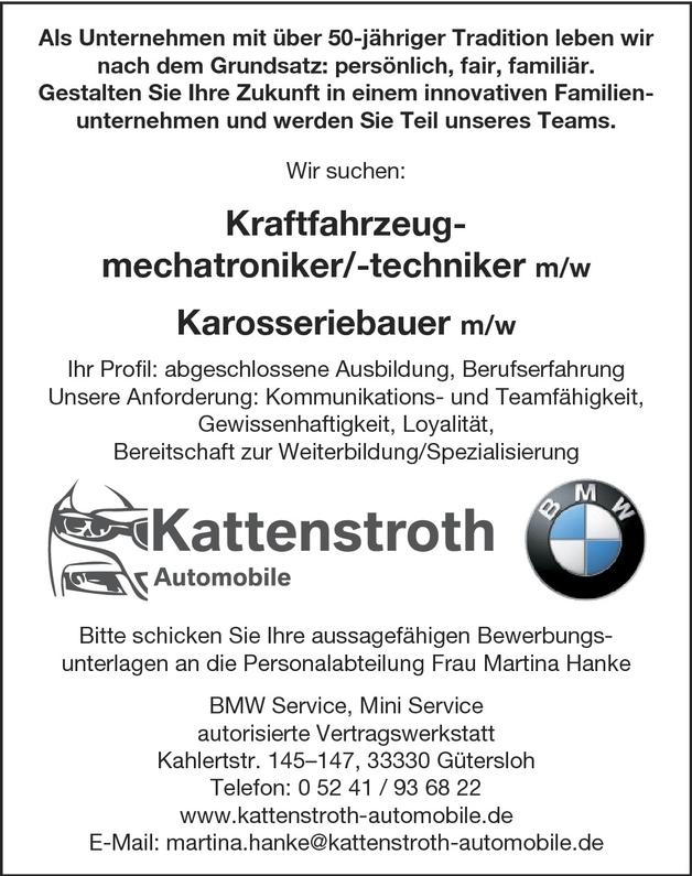 Kfz Mechatroniker (m/w)