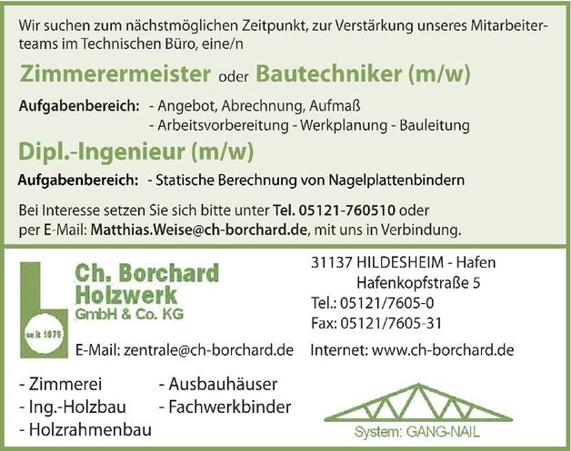 Bauingenieur/in Hochbau