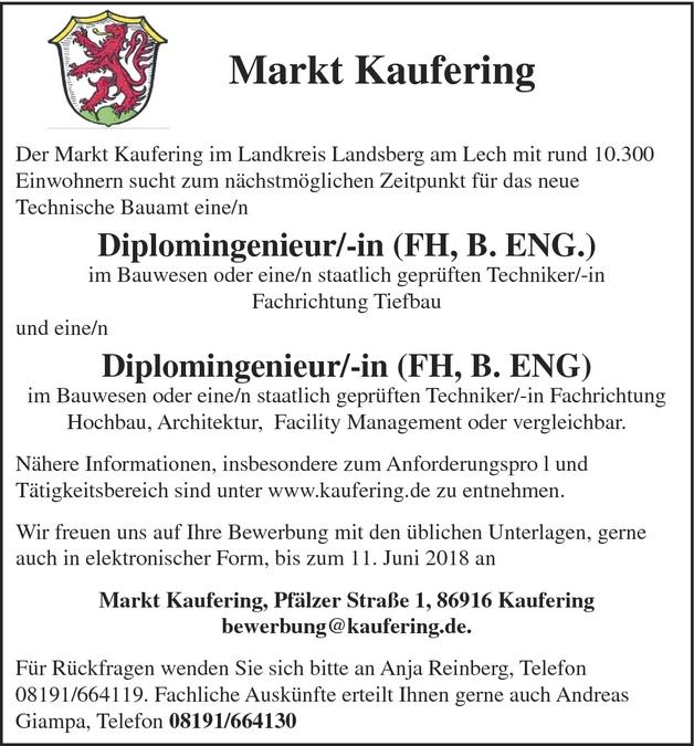 Ingenieur/in Bau (allgemeines Bauwesen)