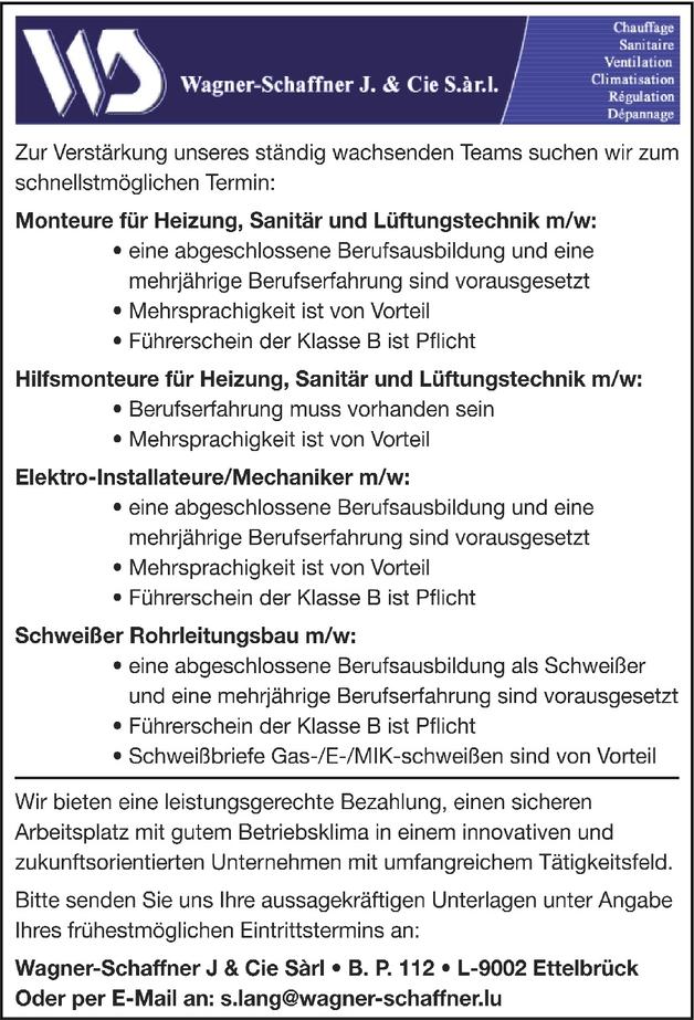 Monteuer HSL (m/w)