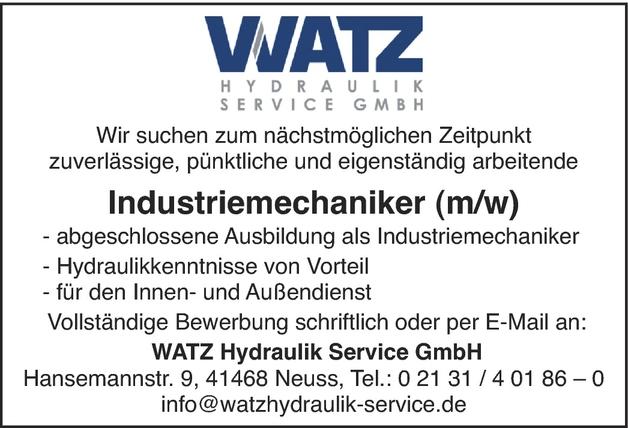 Industrieanlagenmechaniker/in