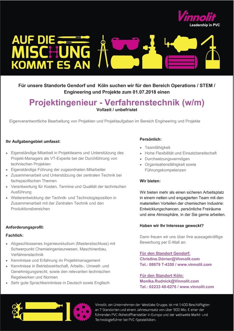 Maschinenbauingenieur/in