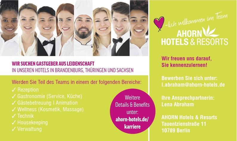 Rezeptionist/in (Hotel)