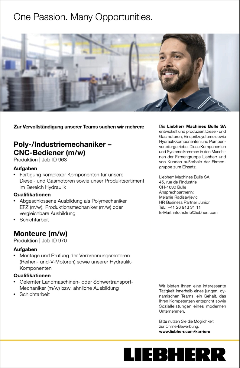 CNC-Bearbeiter/in