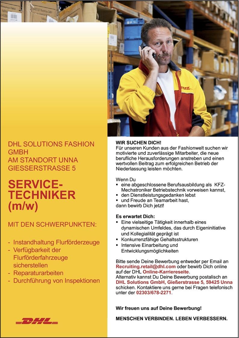 Servicetechniker/in