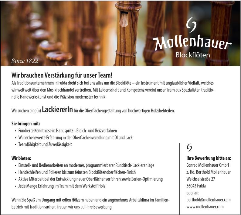 Lackierer/in Spritzlackierung