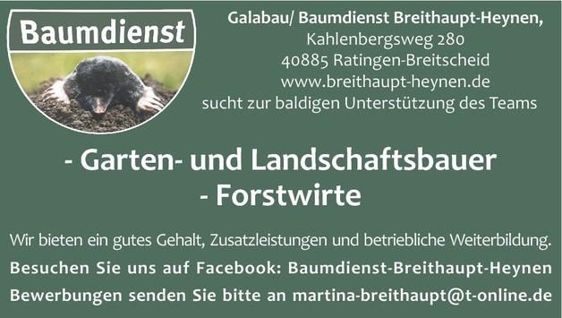 Garten- und Landschaftsbauer/in