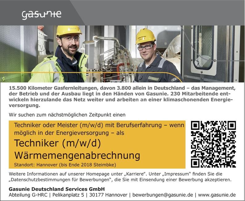 Techniker/in Energietechnik