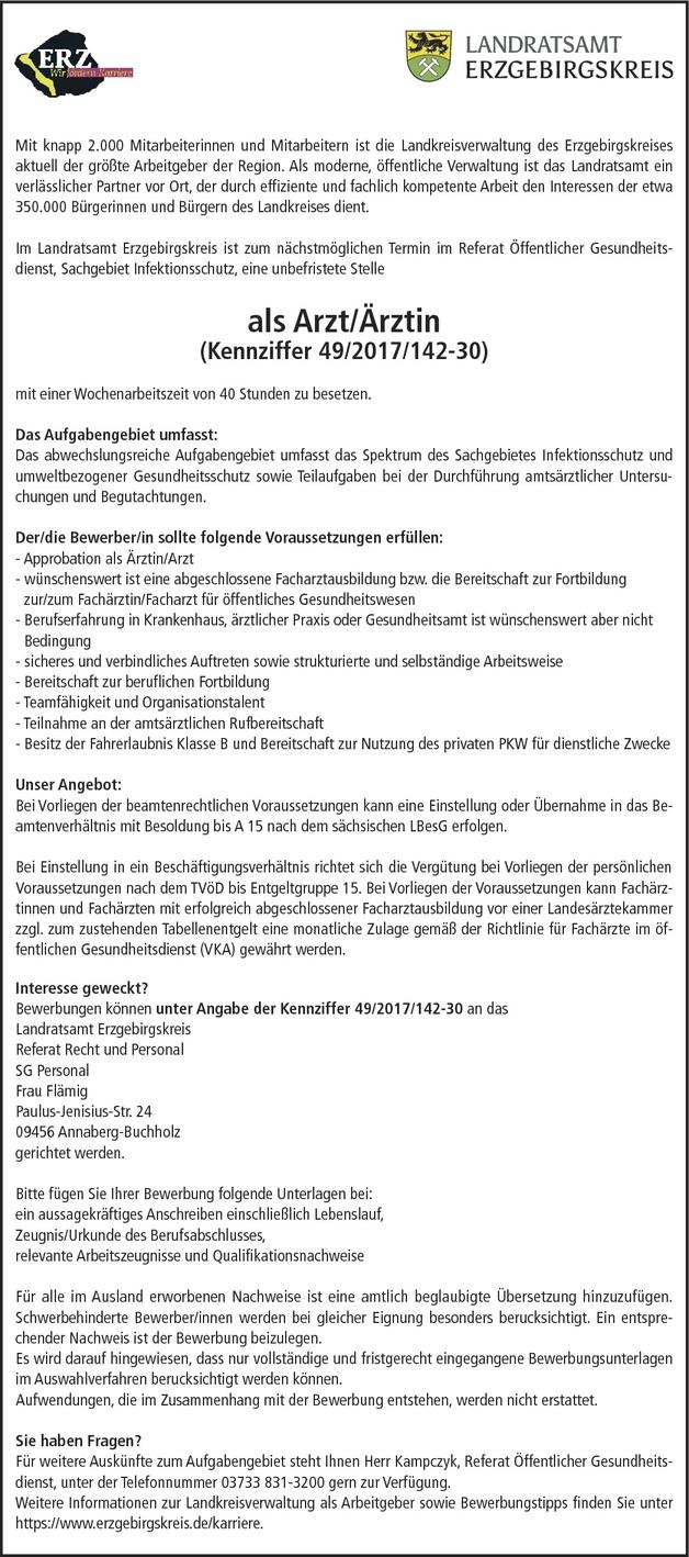 facharzt rztin ffentliches gesundheitswesen in annaberg buchholz - Paulus Lebenslauf