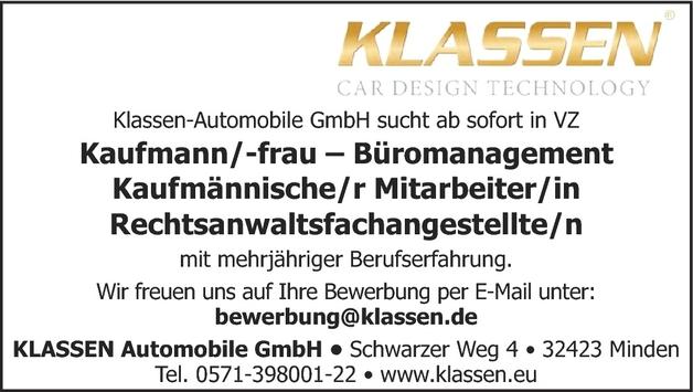 Kaufmann/-frau Bürokommunikation
