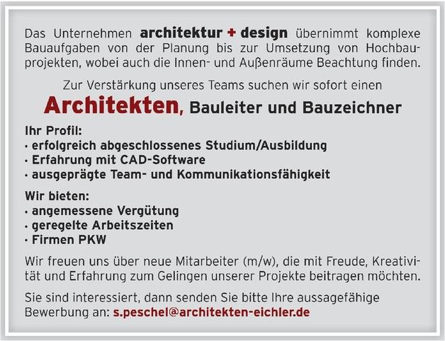 Architekt/in