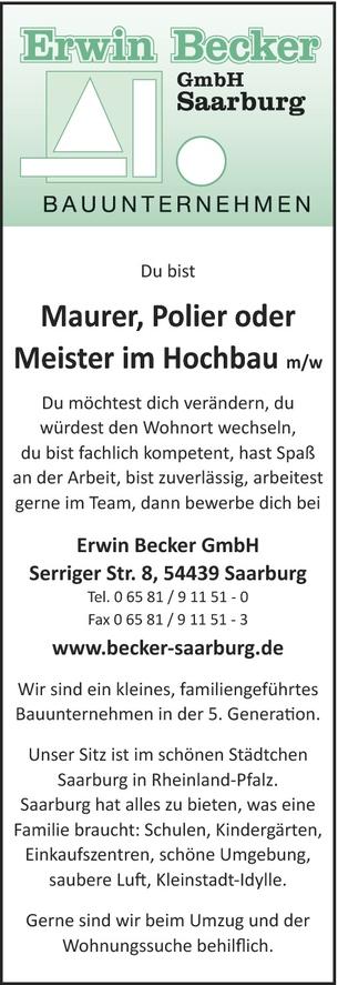 Meister / Hochbau (m/w)